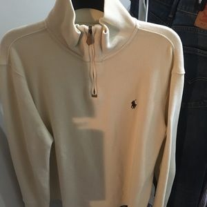 Ralph Lauren men's M quarter zip sweater